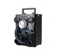 Преносима тонколона Elekom EK-0810, 5W, Караоке функция, Порт за USB, Слот за SD/TF карта, LED освет...