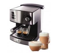 Кафемашина за еспресо и капучино Elekom ЕК - 207, 850 W, Италианска помпа ULKA 15 bar, Крема диск, 2 чаши