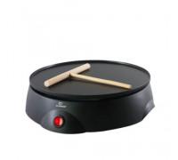 Ел. тиган за палачинки Elekom ЕК-616, 700 W, Плоча с незалепващо покритие, Светлинен индикатор, Дърв...