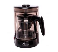 Кафемашина за шварц Elekom EK-626, Изключителен компактен дизайн, Огнеупорна кана, Филтър за многократна употреба, 680 W