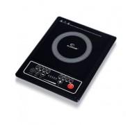 Индукционен котлон Elekom ЕК-7140 ID, 2000 W, 8 нива на мощност, Автоматично изключване, Повърхност ...