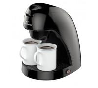 Кафемашина Elekom ЕК-8008 N, 2 чаши (0,24 литра), 450 W, Филтър за многократна употреба, Лесно почистване
