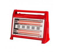 Кварцова печка Elekom ЕК-904, 1600W, Удобна дръжка, Предпазител против преобръщане, Вентилатор и овл...