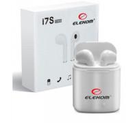 Безжични слушалки Elekom EK-i7, Капацитет на батерията: Слушалка 65 mAh, Bluetooth обхват: 12 м.