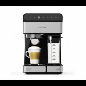 Кафемашина Cecotec 1558 Instant 20 Touch Nera Semi, Мощност 1350 W и 20 бара налягане за перфектен к...