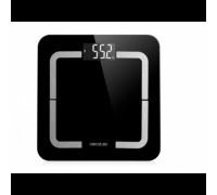 Кантар Cecotec Precision 9500 Smart Healthy, Свързване на смартфон с Bluetooth, Капацитет до 180 кг и LCD дисплей