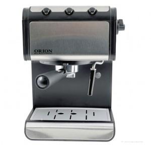 Кафемашина ORION CM4602S-GS, 15 бара, 850 W, Двоен неръждаем филтър с патентован дизайн за плътен ка...
