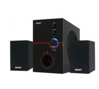Аудио система Elekom RS-112BA, Дистанционно, 10W + 2x3W, USB/ TF/ FM/ Bluetooth
