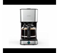 Шварц кафемашина Cecotec 1554 950 1.5L BI 66, Мощност 950 W и капацитет 1,5 л за приготвяне на 12 ча...