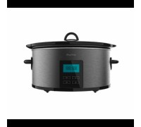 Уред за бавно готвене Cecotec Chup Chup Matic, Капацитет 5,5 л, 2 температурни нива, Подвижен керами...